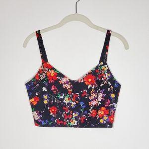 Express 2-piece floral dress
